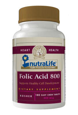 Nutralife Folic Acid 800mcg