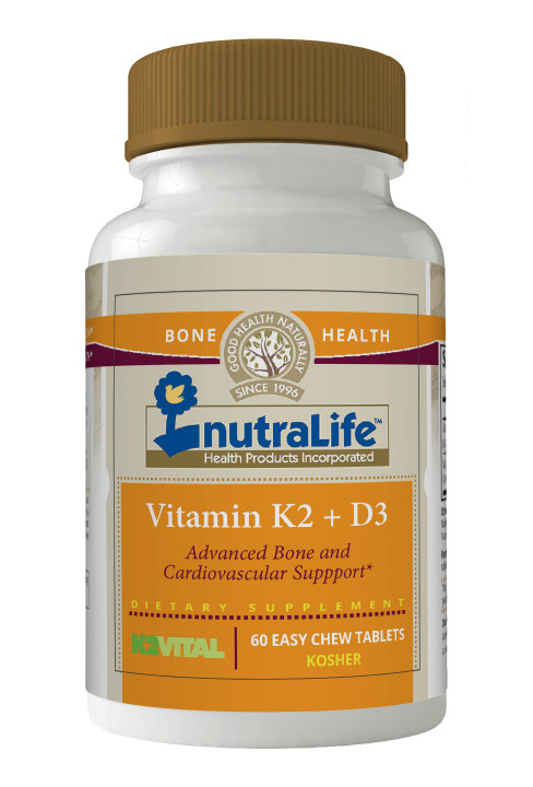 Nutralife Vitamin K2 and D3