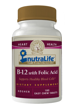 Nutralife B12 with Folic Acid