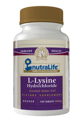 Nutralife L-Lysine Hydrochloride