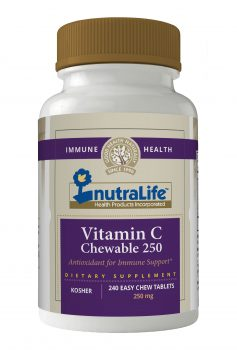 Nutralife vitamin c 250 chewable
